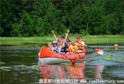 莫斯科儿童夏令营活动